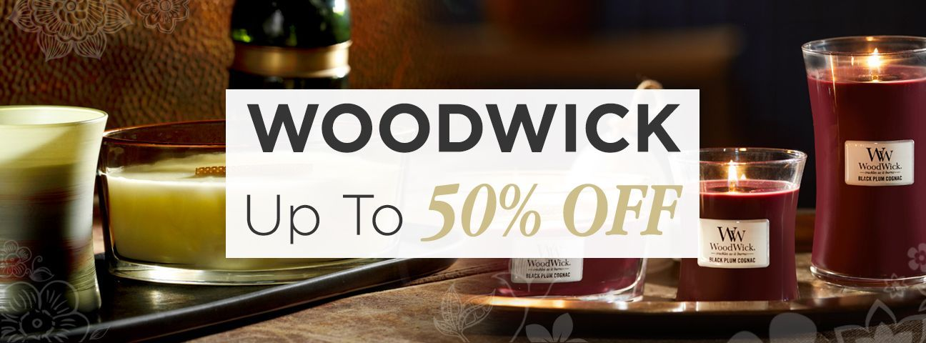 Discontinued & Seasonal WoodWick Items!