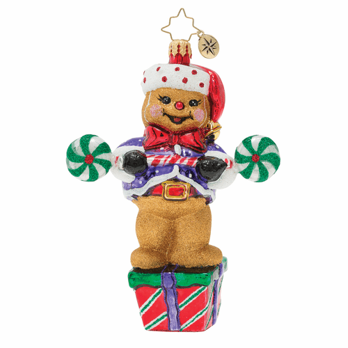 Workout Ginger! Ornament by Christopher Radko
