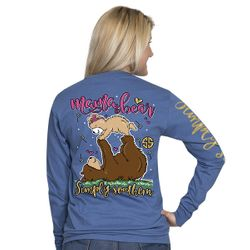 XXLarge Mama Bear Moonrise Long Sleeve Tee by Simply Southern