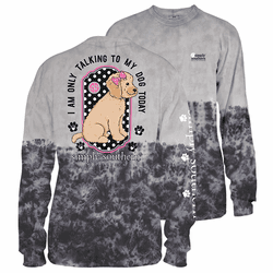 XXLarge Smokey Only Talking To My Dog Today Long Sleeve Tee by Simply Southern