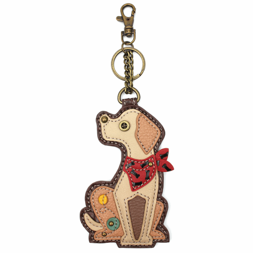 Yellow Lab Key Fob by Chala