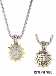 You Are My Sunshine Star Slider Necklace by John Medeiros