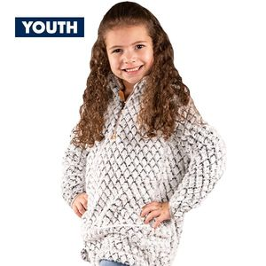 Youth Heather Gray Simply Fuzzy Pullover by Simply Southern