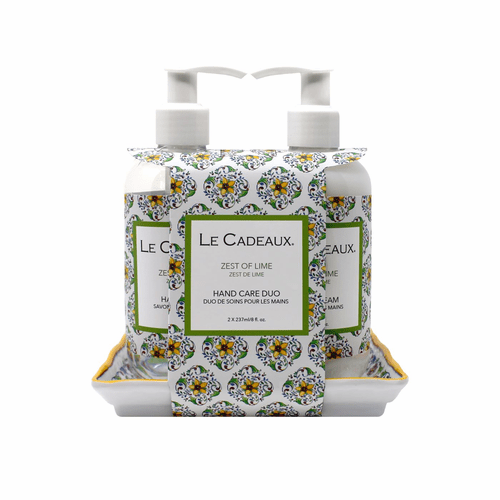 Zest of Lime Scented 8 oz. Hand Wash & Cream Duo by Le Cadeaux