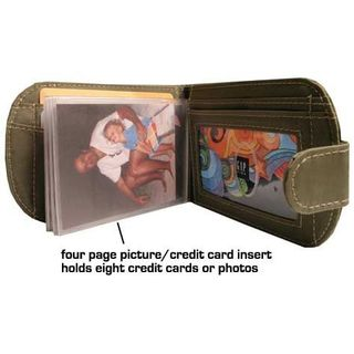 Bifold Wallet Card Insert and photo insert