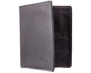 RFID Blocking Leather Hipster Black