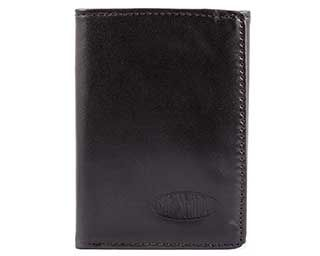 RFID Blocking Leather Tri-fold