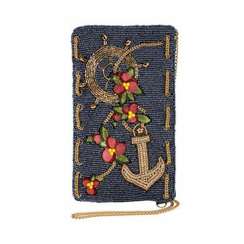 Mary Frances Cross Body Phone Bag Hooked Up