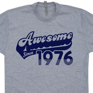 Awesome Since 1976 T Shirt