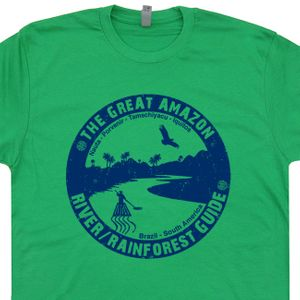 Amazon River T Shirt Rain Forest T Shirt Kayak Shirt Funny Canoe Shirt