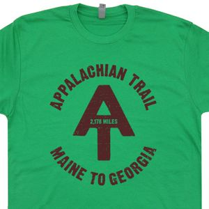 Appalachian Trail T Shirt Cool Hiking Tee