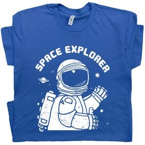 Space Explorer T shirt Vintage Nasa Tee