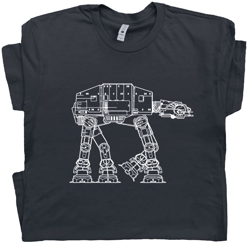 Star Wars T Shirt | Empire Strikes Back T Shirt | Atat T Shirt