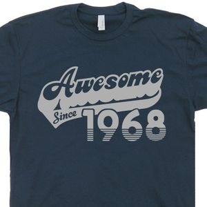 Awesome Since 1968 T Shirt 50th Birthday Shirt 50th Birthday T Shirt