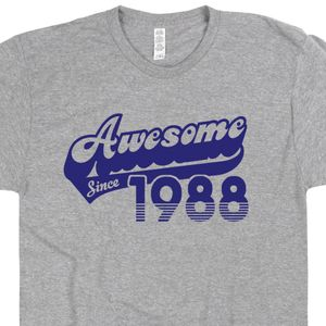 Awesome Since 1988 T Shirt 30th Birthday Shirt 30th Birthday T Shirt