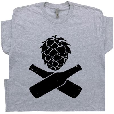 Beer Hops T Shirt Craft Beer Tee