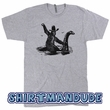 Bigfoot T Shirt Loch Ness Monster Shirt Sasquatch Graphic Tee