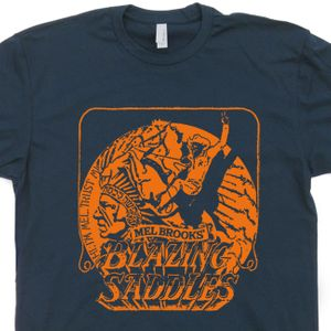 Blazing Saddles T Shirt Vintage Movie Tee