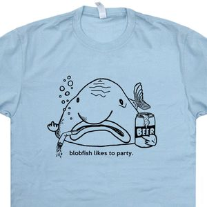 Blobfish T Shirt Funny Beer Shirts Cool Bar Shirt Vintage Pub Tee Shirt