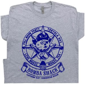 Bomba Shack Shirt BVI Reggae Bar T Shirt