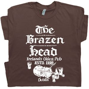 Brazen Head Irish Pub T Shirt - World's Oldest Bar