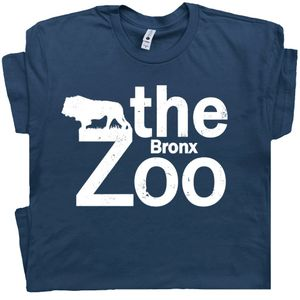 Bronx Zoo T Shirt Vintage New York City Tee
