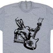 C3PO Guitar T Shirt Electric Guitar Shirt Fender Guitar Shirt Taylor Guitar Tee