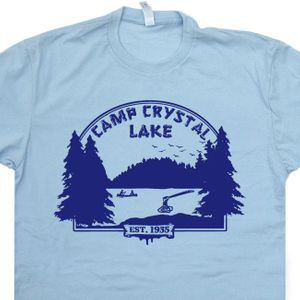 Camp Crystal Lake T Shirt Friday The 13th