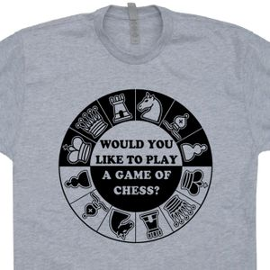 Chess T Shirt Geek T Shirts War Games 80s Movie T Shirt Quote