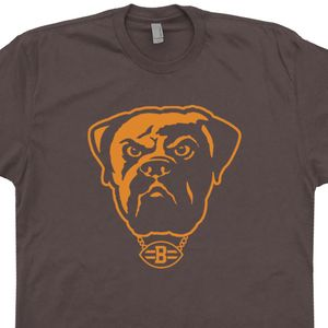Cleveland Brown Vintage Shirt Cleveland Browns Dawg Pound Shirt Vintage Logo Graphic