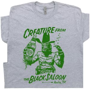 Creature From The Black Lagoon T Shirt Austin TX Bar