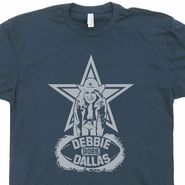 Dallas Cowboys Vintage T Shirt Debbie Does Dallas Shirt Dallas Cowboys Retro Graphic Logo