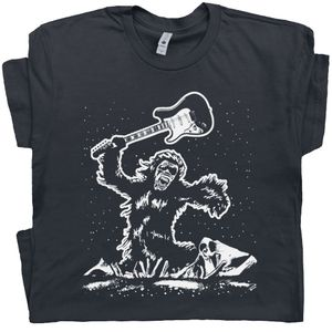 Guitar T Shirt 2001 A Space Odyssey