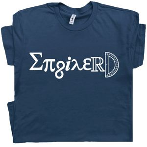 Enginerd T Shirt Funny Engineer Tee Math Geek