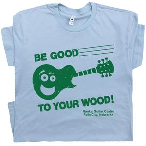 Guitar Center T Shirt Be Good To Your Wood Tee