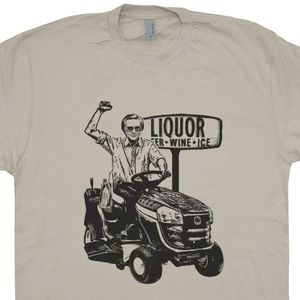 George Jones T Shirt Lawn Mower