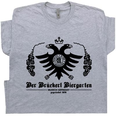 German Beer T Shirt Famous Bar Pub Tee