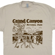 Grand Canyon National Park T Shirt Monument Valley Shirts Hiking Camping Canoe Tee Colorado River