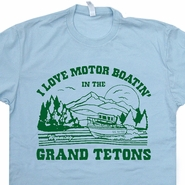 Grand Tetons T Shirt Funny T Shirt Saying Boobs T Shirt Offensive Tee