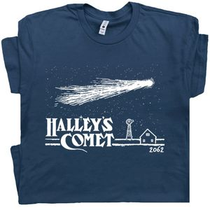 Halley's Comet T Shirt Cool Astronomy Graphic Tee