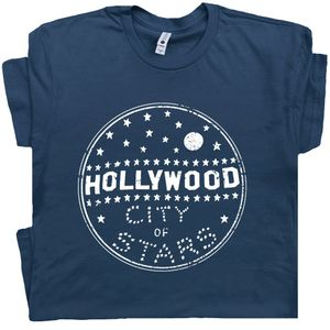 Hollywood T Shirt Vintage Graphic Tee