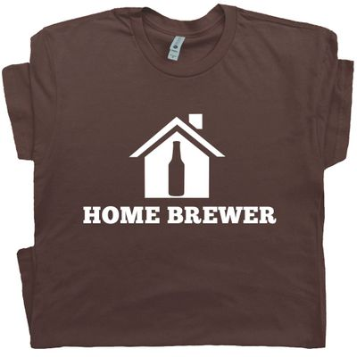 Home Brewer T Shirt Craft Beer Tee