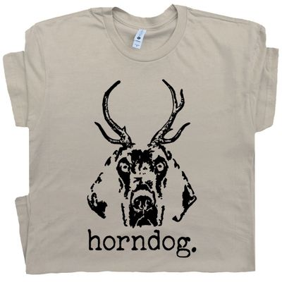 Horndog T Shirt Funny Offensive Tee