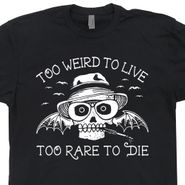 Hunter S Thompson T Shirt Fear and Loathing in Las Vegas Vintage Tee Shirts