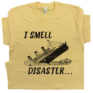 I Smell Disaster T Shirt Funny Tee