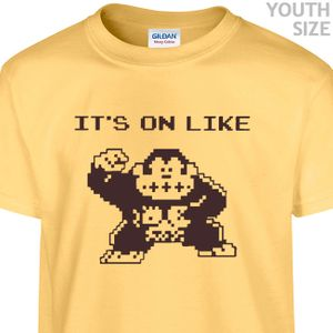 It's On Like Donkey Kong T Shirt Kids Funny T Shirts Youth Gamer Shirts