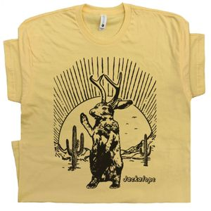 Jackalope T Shirt Mythical Animal