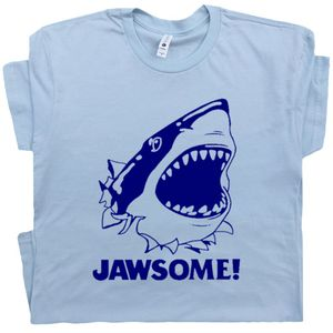 Jawsome T Shirt Jaws Shark Awesome Tee