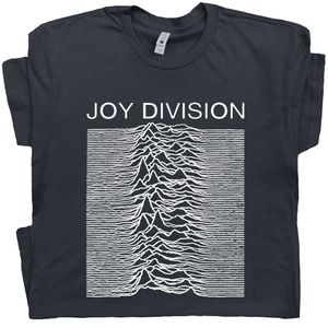 Joy Division T Shirt Unknown Pleasures Tee