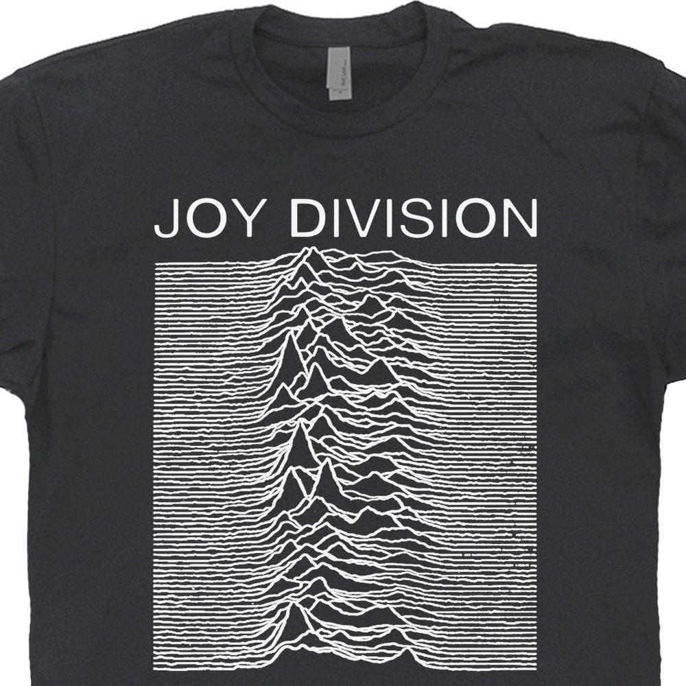 5f8688e4 Joy Division T Shirt Vintage Band T Shirts Unknown Pleasures Graphic Design